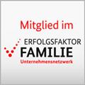 """Wir sind Mitglied im Unternehmensnetzwerk """"Erfolgsfaktor Familie"""""""